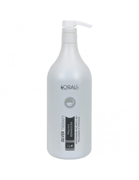 SORALI NO FRIZZ THERAPY LISS SILVER