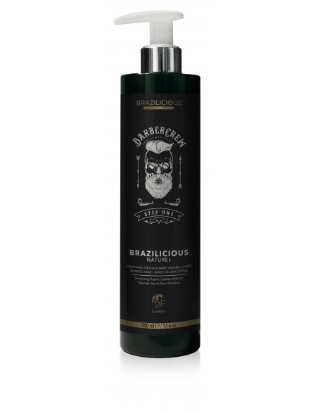 Brazilicious Beard & Hair Shampoo 500 ml
