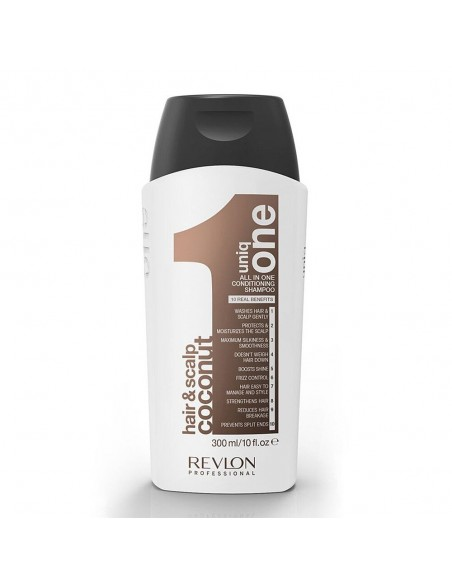 REVLON UNIQ ONE SHAMPOOING CONDITIONNEUR COCONUT 300 ML