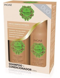 INOAR KIT DUO MACADAMIA 250 ML