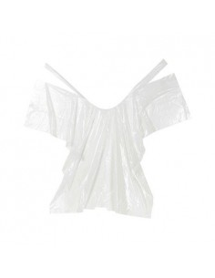 CAPE JETABLE TRANSPARENTE 20 PCS