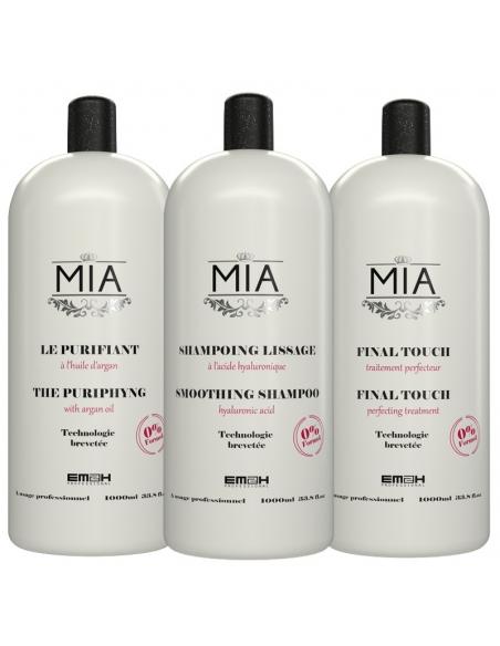 Shampoing Lissage Mia kit 1000ml