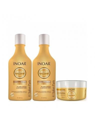 Onderhoudskit shampoo & conditioner & olie inoar