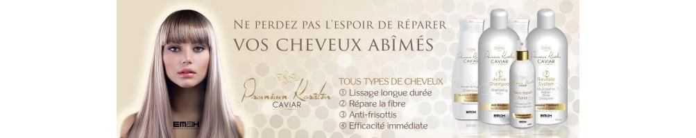 Premium keratine caviar - Lissage brésilien aux extraits de caviar